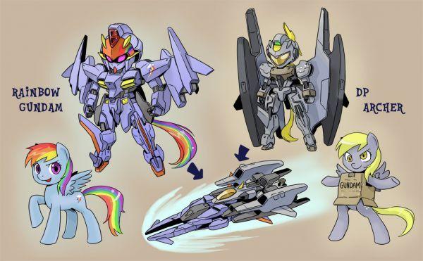 My Little Gundam Neatorama