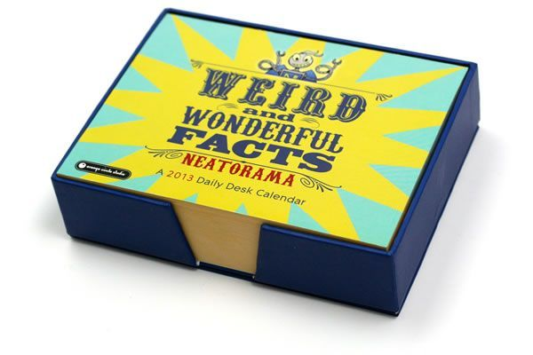 Neatorama 2013 Daily Desk Calendar – TFN