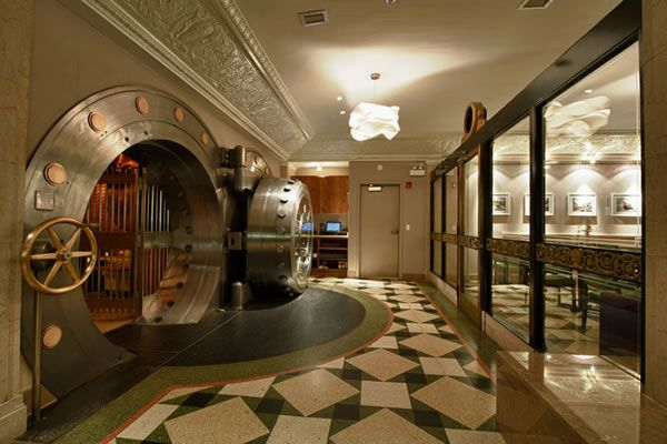 Dine In A Bank Vault At The Bedford Neatorama