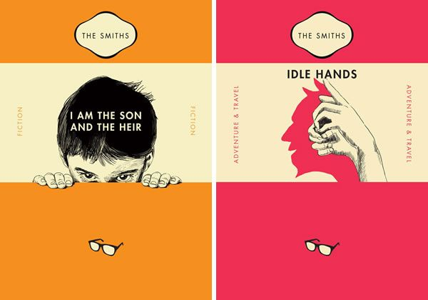 The Smiths Penguin Book Covers : The smiths as penguin classics book cover neatorama