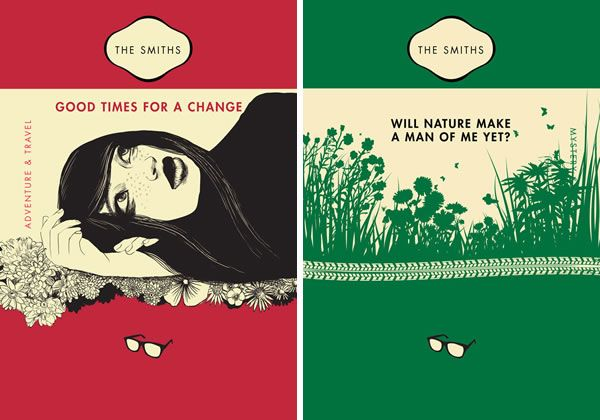 Classic Penguin Book Covers ~ The smiths as penguin classics book cover neatorama