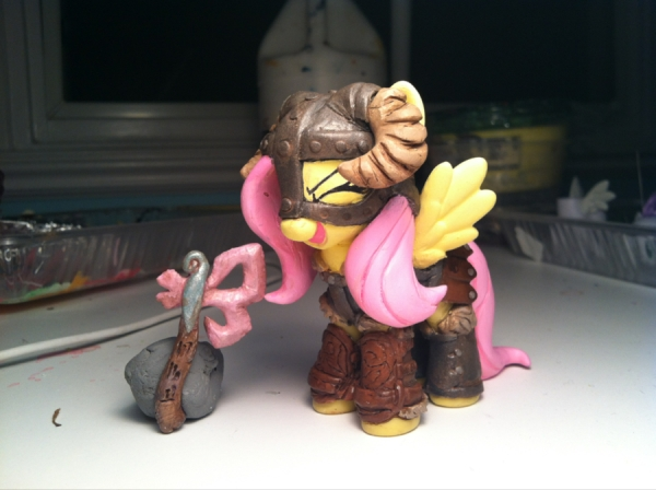 Dragonborn Fluttershy