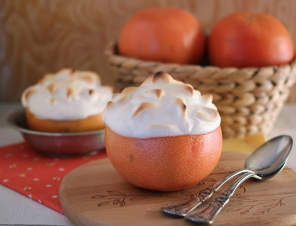 baked alaska grapefruit