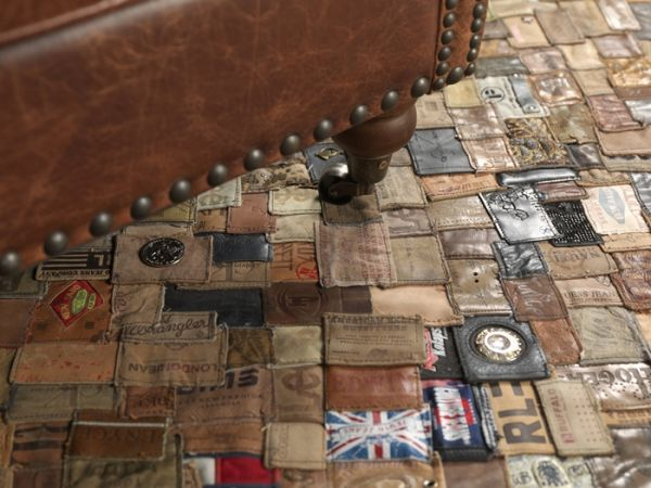 Rugs Made of Jeans Labels - Rugs Posts