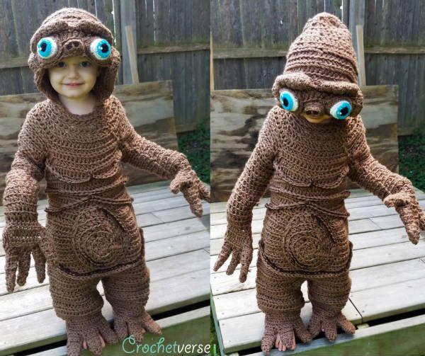 Crocheted E.T.