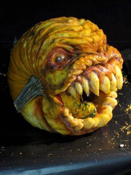 Don't Get Your Fingers Too Close To This Jack-O-Lantern - Neatorama