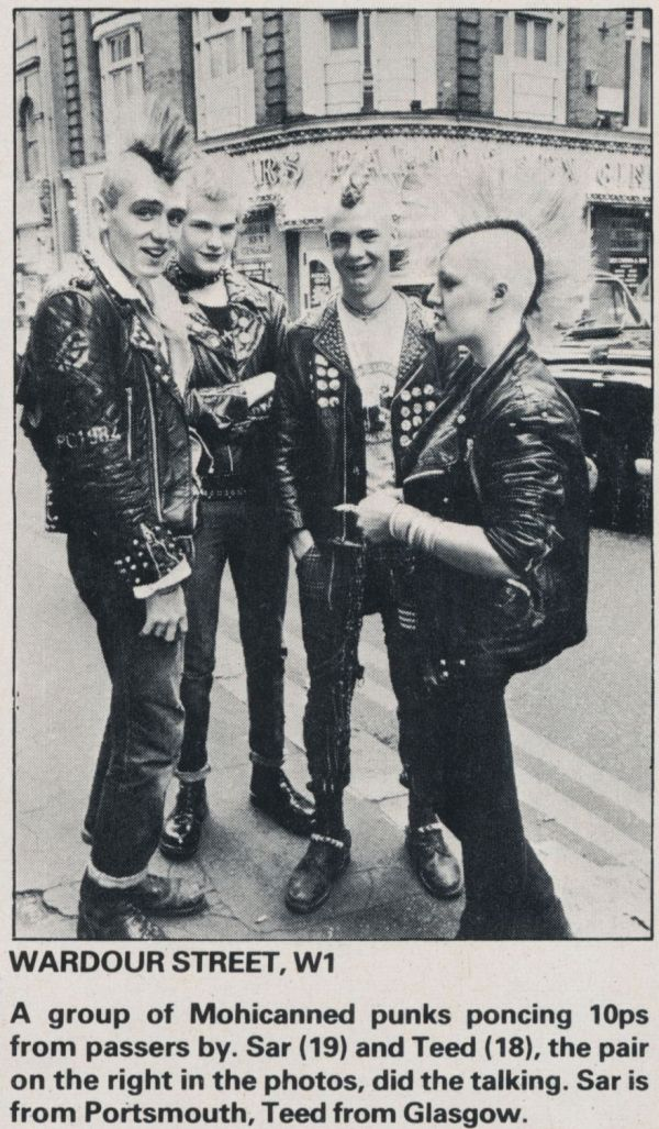 """Young Punks In London Interviewed Five Years After """"Anarchy In The U.K."""""""