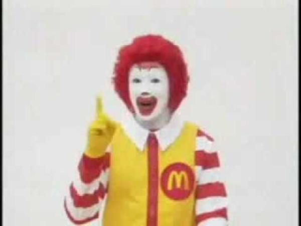 The McRoll- A Psychedelic Remix Of Japanese McDonald's Commercials