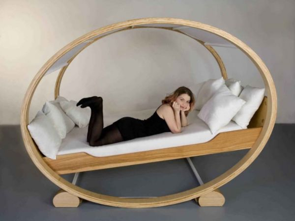 Weirdest Beds rocking chair bed - neatorama