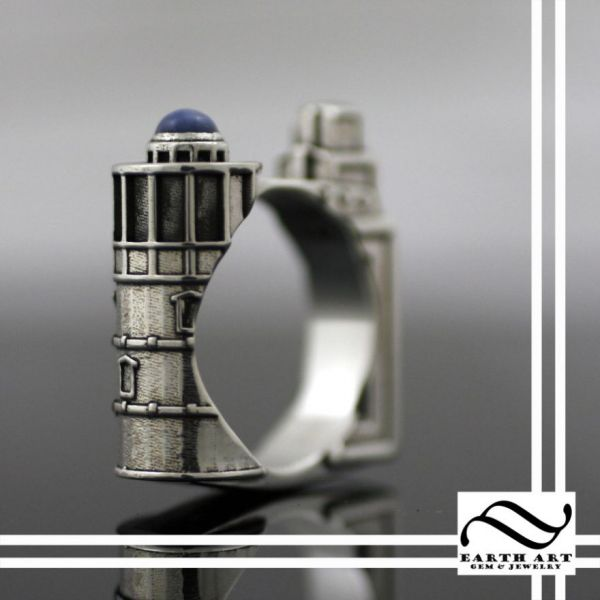 Geeky Wedding Rings Inspired by BioShock Star Trek and More