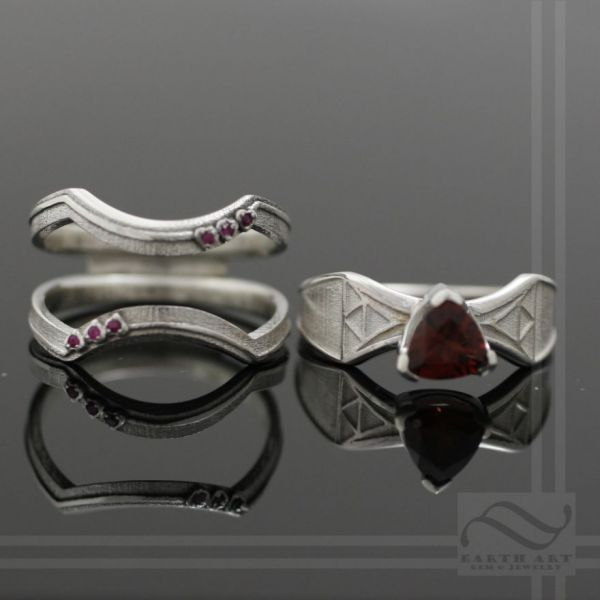 crest of hyrule the legend of zelda - Star Trek Wedding Ring