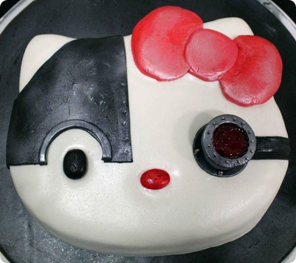 Borg Hello Kitty Cake.