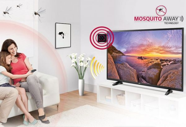 This Television Repels Mosquitoes