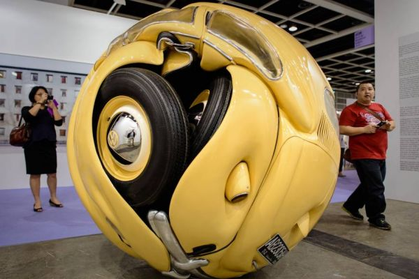 1953 Volkswagen Turned into a Sphere - Neatorama