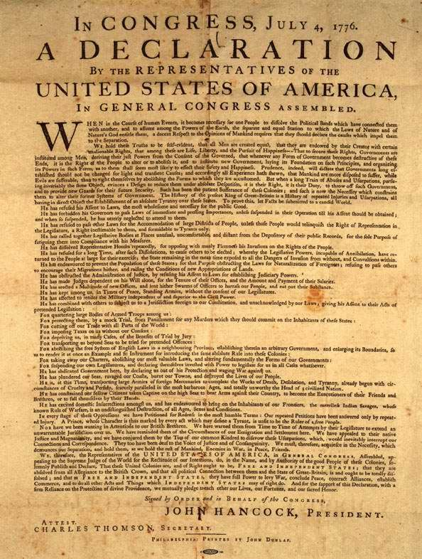 1776 essays Declaration of independence essays - declaration of independence was written, by thomas jefferson on july 4, 1776 when united states thirteen colonies claiming their separation from great britain today, there are still many issues people been debating on.