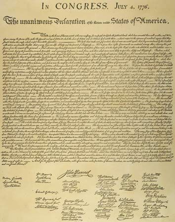 Thomas Jefferson Declaration of Independence Text