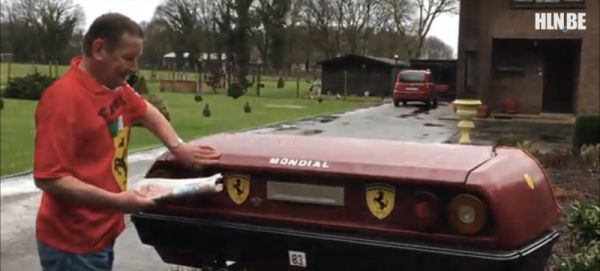 This Man Turned His Ferrari into a Mailbox