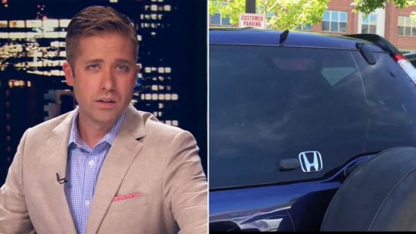 News Anchor Comes Across Dog Locked In Hot Car, Shames Owner On Live TV