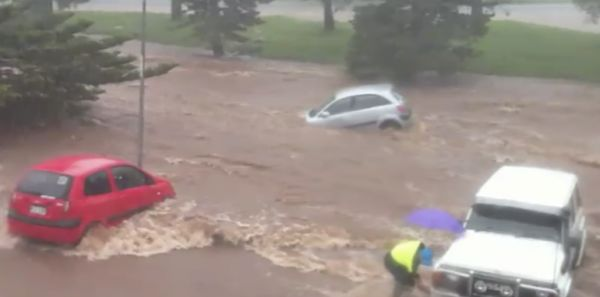 Video Footage Shows How Fast A Flash Flood Can Get Out Of Hand