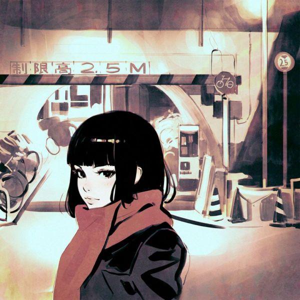 Modern Manga Art By Ilya Kuvshinov