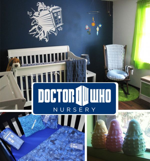 20 awesome geeky nursery themes neatorama