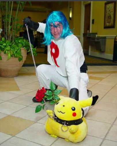 Horrifically Bad Pokemon Cosplay