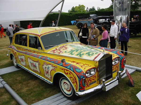 John Lennon S Psychedelic Rolls Royce Neatorama