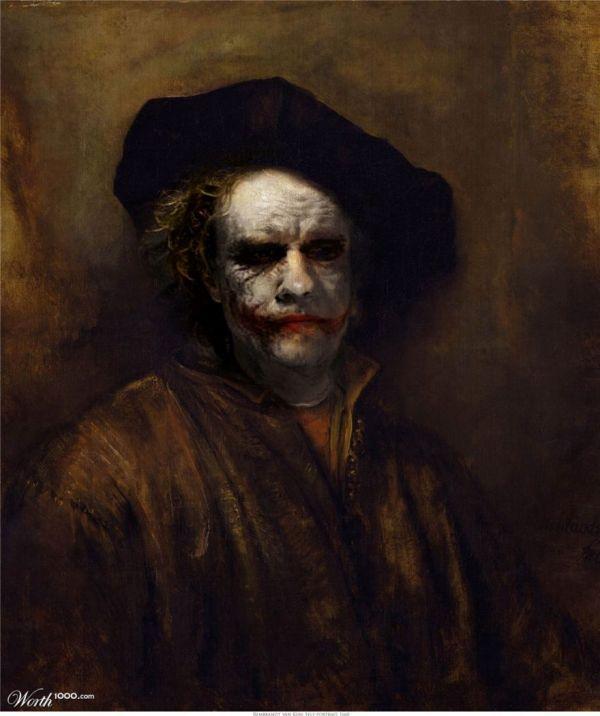 Superheroes Inhabit Famous Paintings - Neatorama