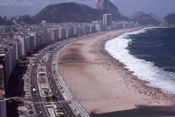 Color Photos Of The Rio Beaches In The 1970s