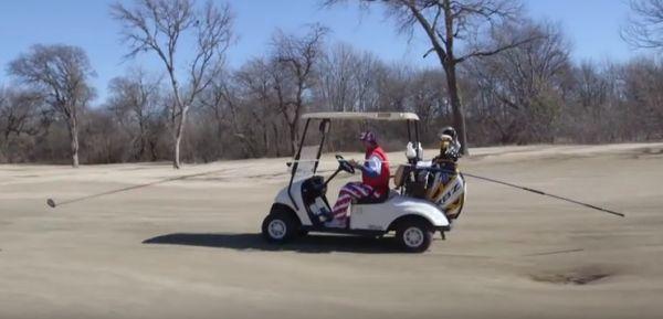 The Worlds Longest Golf Club