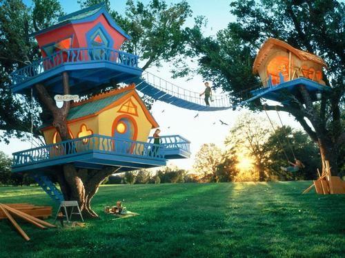 Tree house hamlet