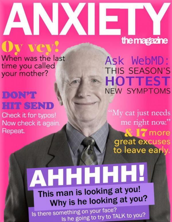 Anxiety Magazine Covers