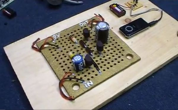 Gingerbread amplifier circuit