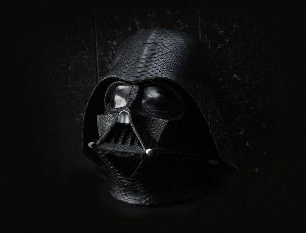 Snakeskin Darth Vader Helmet