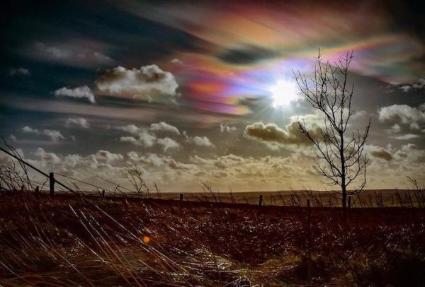 U.K. Treated to Rare, Pastel-Colored Nacreous Clouds After Storm