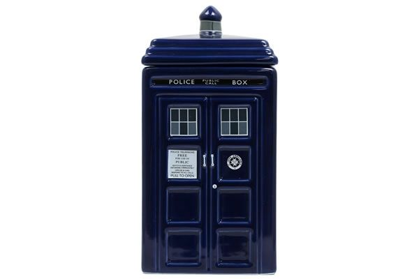 Tardis ceramic cookie jar neatorama - Tardis cookie jar ...