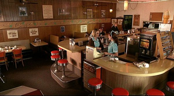Double R Diner in Twin Peaks