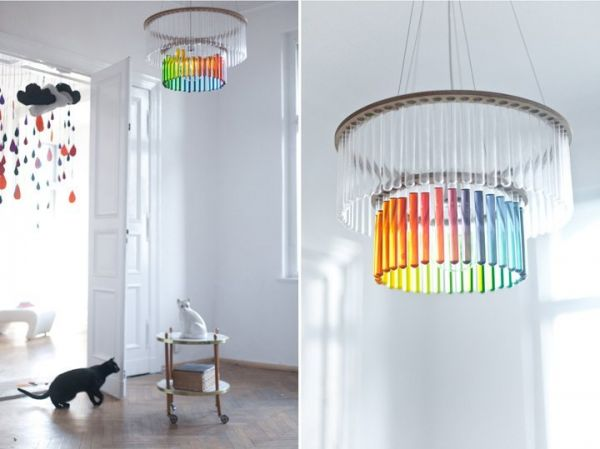 Test Tube Chandeliers
