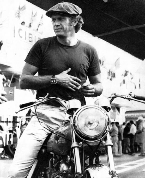 for steve mcqueen racing motorcycles was no act neatorama. Black Bedroom Furniture Sets. Home Design Ideas