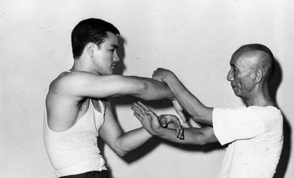 Rare Footage Of Bruce Lee's Teacher Yip Man Training Days Before His Death
