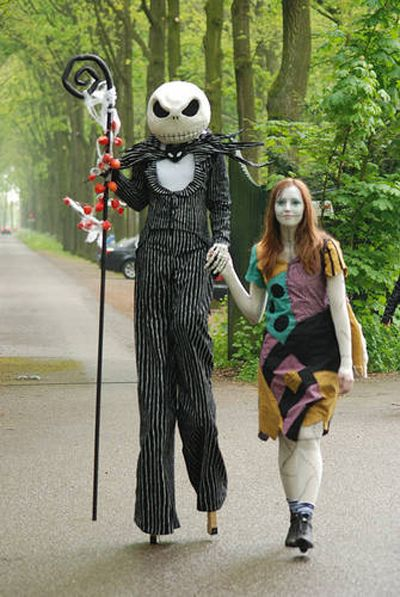 Amazing Nightmare Before Christmas Costumes - Neatorama