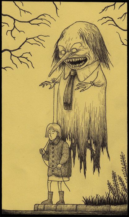 Tiny Sticky Note Nightmares By John Kenn Mortensen