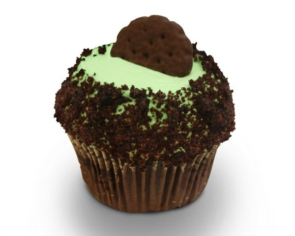 Girl Scout Thin Mint Cupcakes - Neatorama