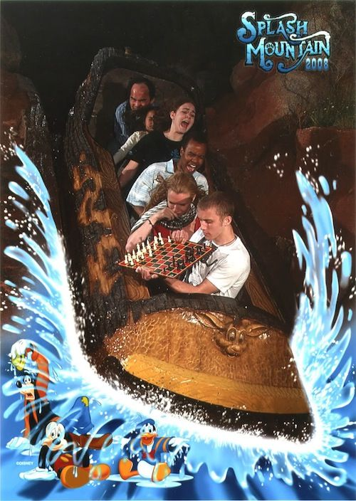 Splash Mountain chess