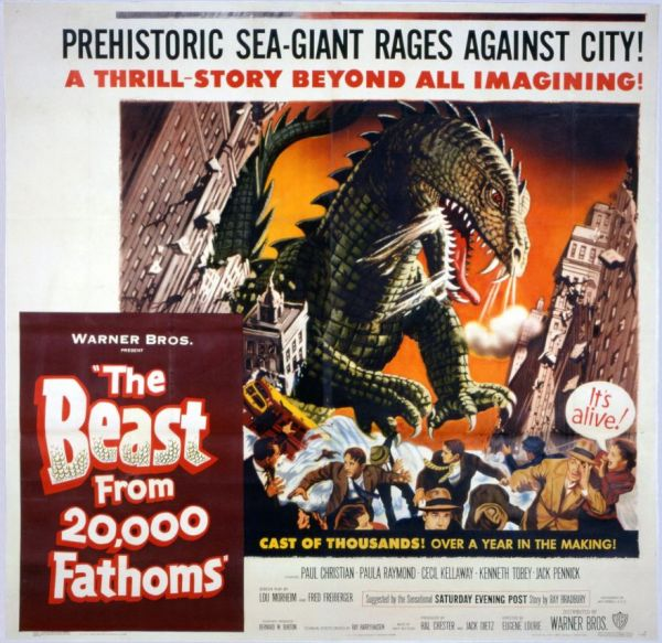 Image result for the beast from 20000 fathoms