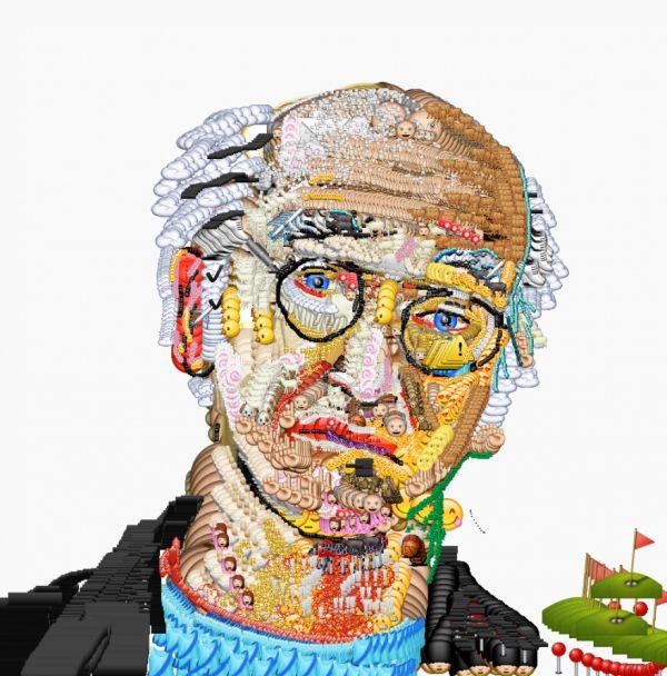 emoji art by yung jake