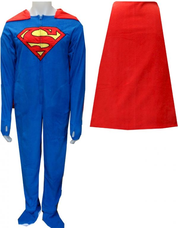 Superman And Batman Onesies For Adults - Neatorama