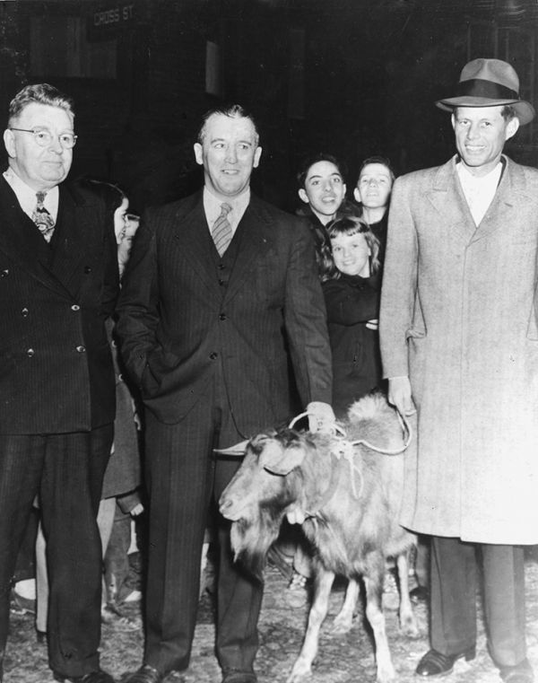 JFK's Goat-Out-the-Vote Campaign