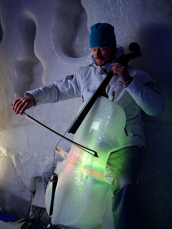 Ice Music Is Music Played On Instruments Made Of Ice
