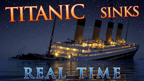 Now You Can Watch The Titanic Sink In Real Time
